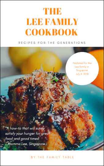 Lee Fam Cookbook